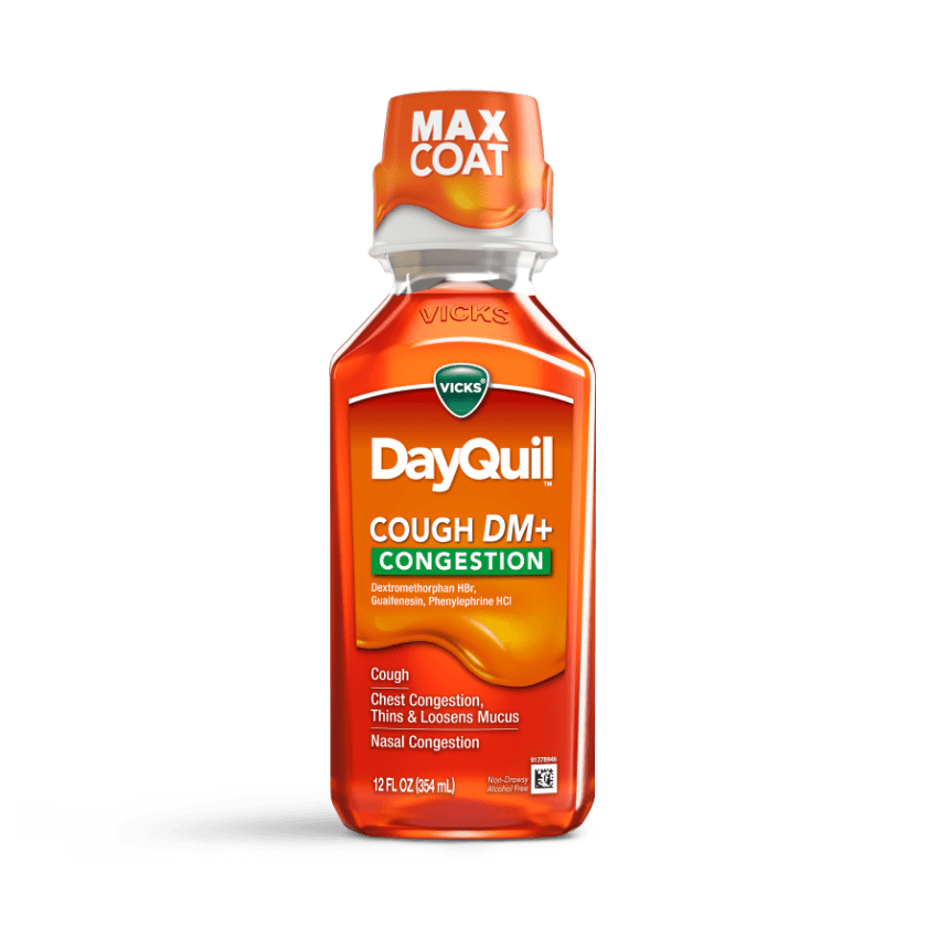 DayQuil Cough DM+ Congestion Relief Liquid