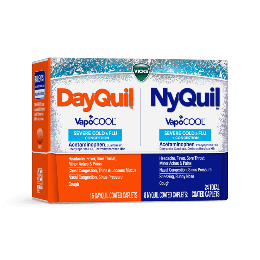 DayQuil / NyQuil Cough, Cold & Flu Relief Caplets