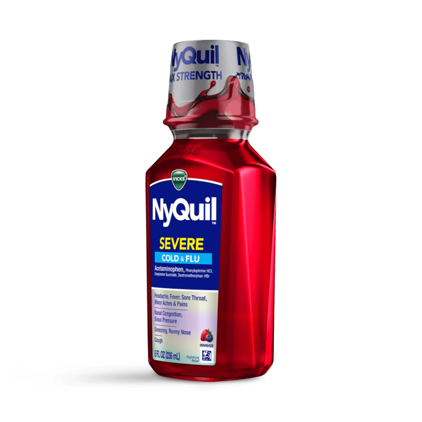 NyQuil Severe Cough, Sneezing, Runny Nose Relief Liquid
