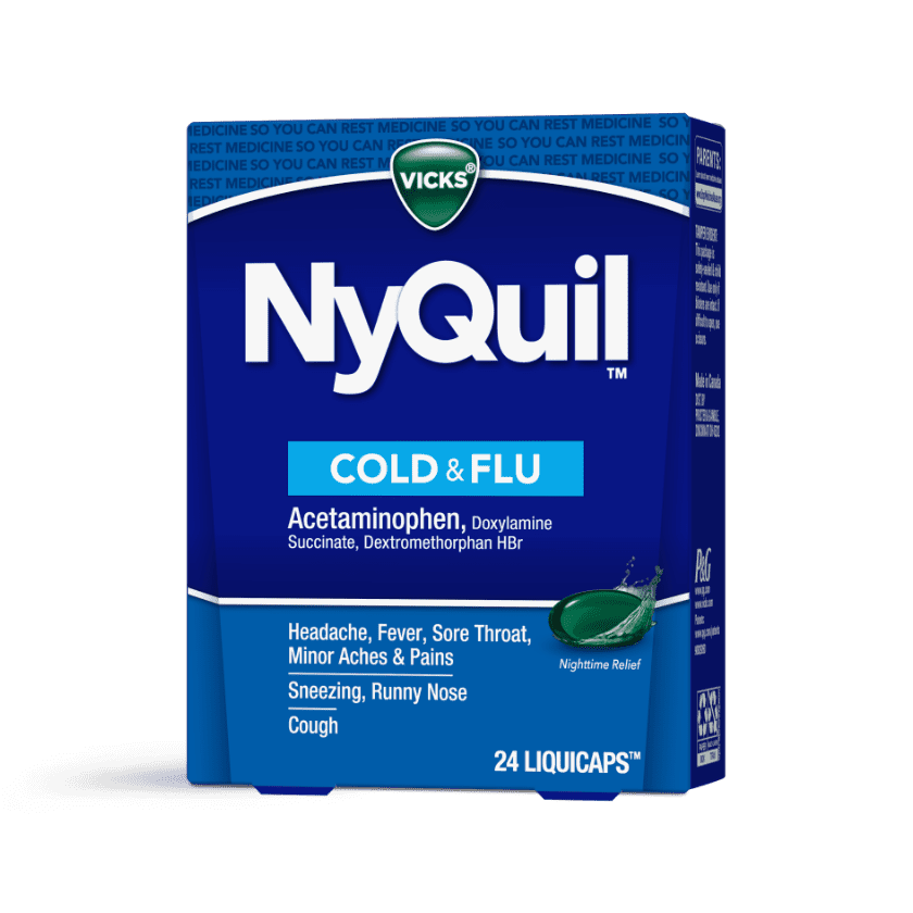 NyQuil Sore Throat and Fever Medicine