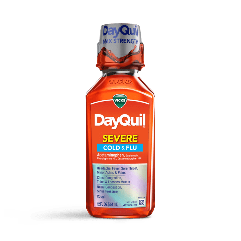 DayQuil Severe Cold & Flu Relief Liquid
