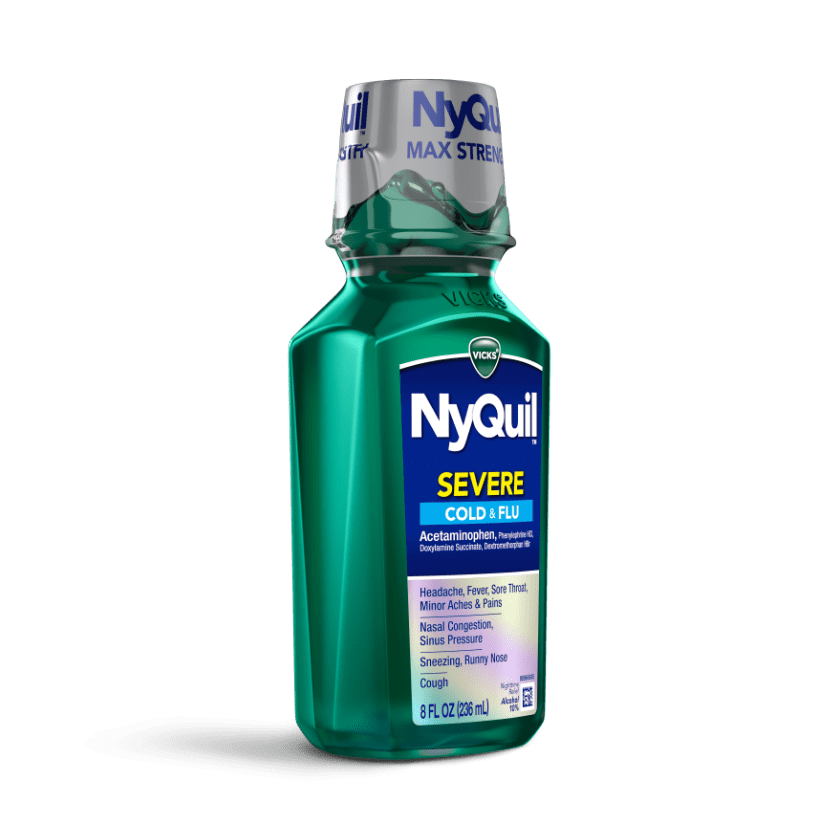 NyQuil Severe Sinus Congestion & Pressure Relief Liquid