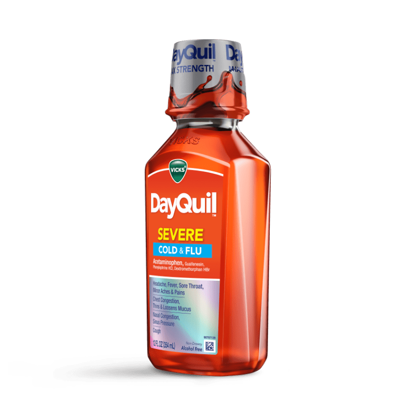 DayQuil Severe Cough & Congestion Relief Liquid