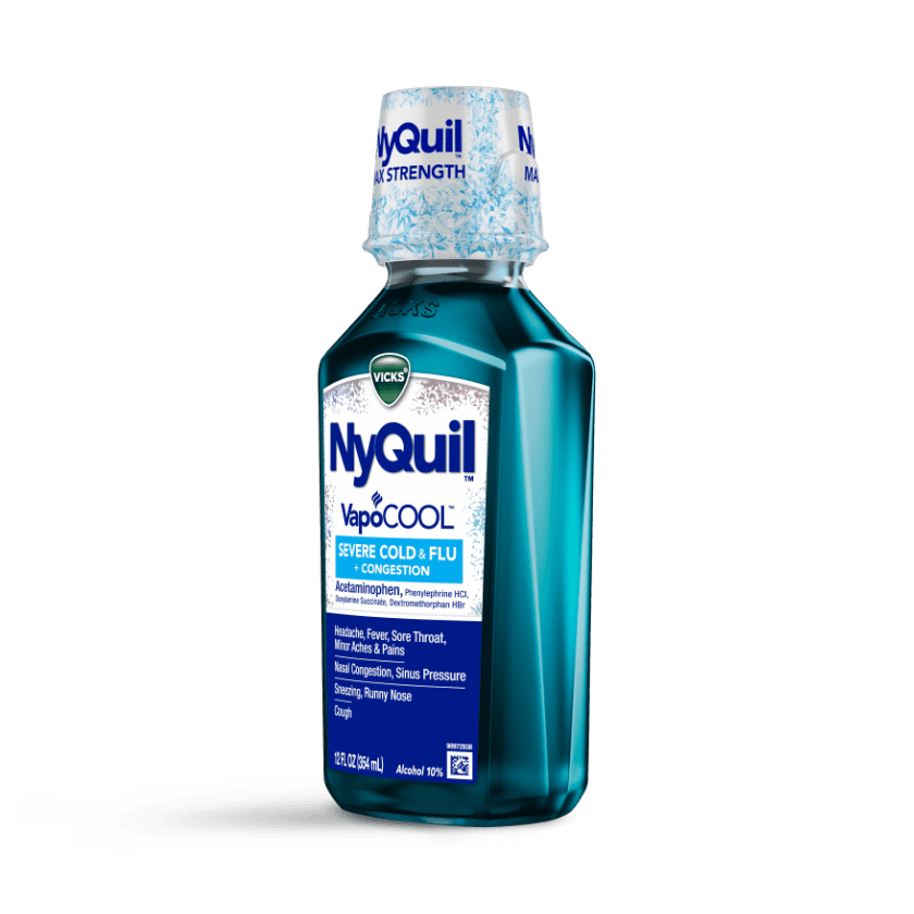 NyQuil Severe VapoCOOL Cough, Sneezing, Congestion Relief