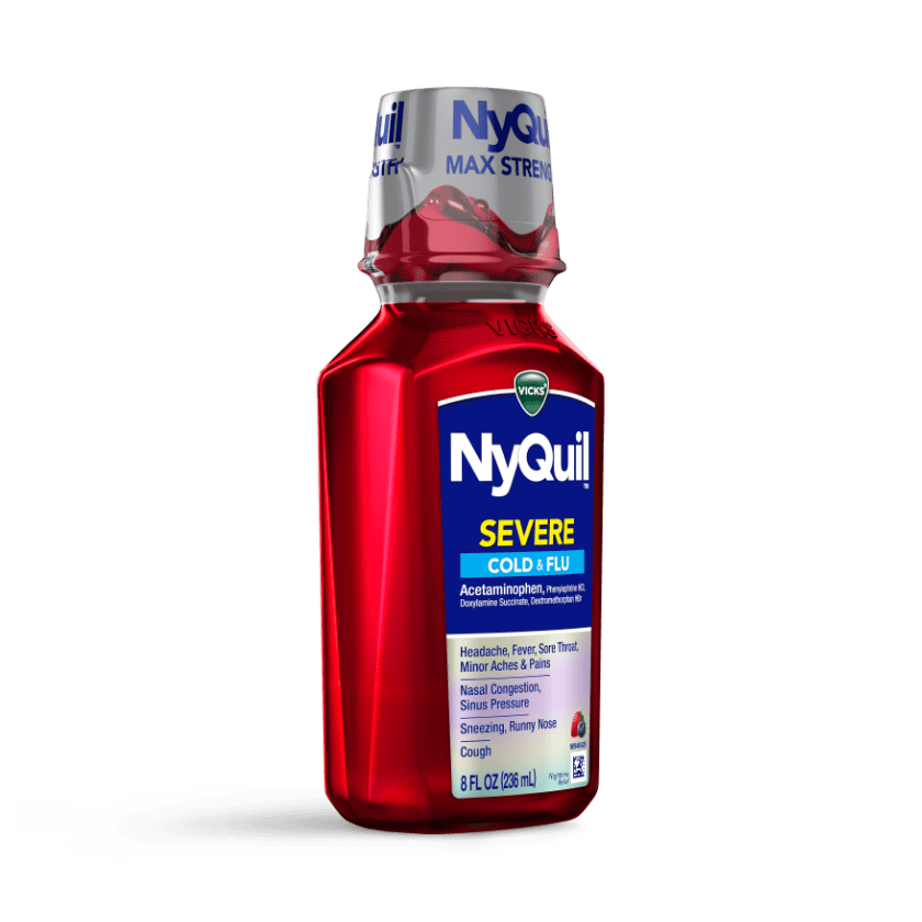 NyQuil Severe Cold & Flu Syrup