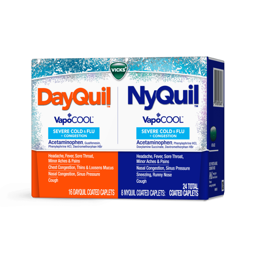 DayQuil / NyQuil Severe VapoCOOL Caplets