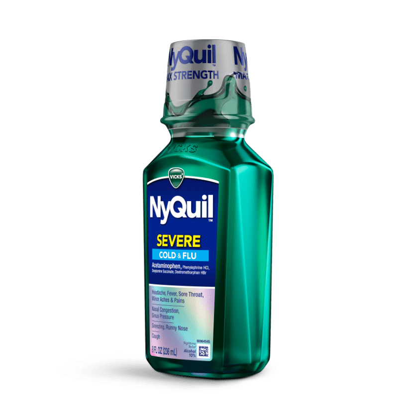 NyQuil Severe Sneezing, Cough, Runny Nose Relief Liquid