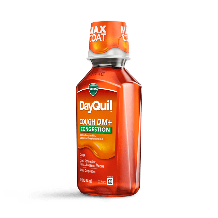 DayQuil Chest and Nasal Congestion Relief Liquid
