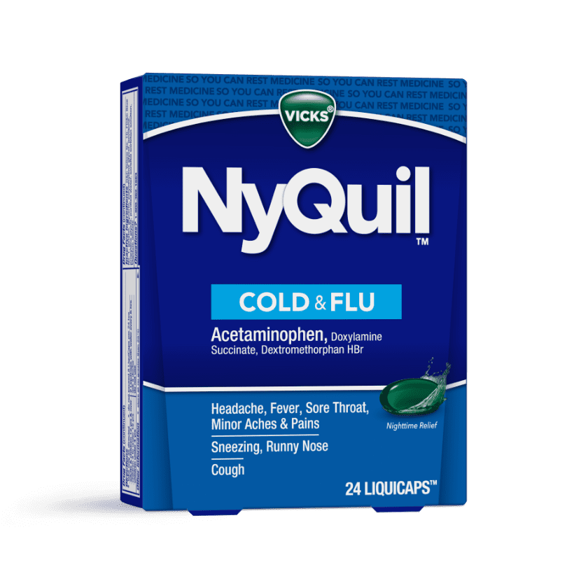 NyQuil Runny Nose, Sneezing Cough Relief Liquicaps