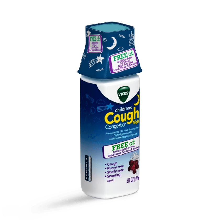 Vicks Children's Cough & Congestion Night Syrup