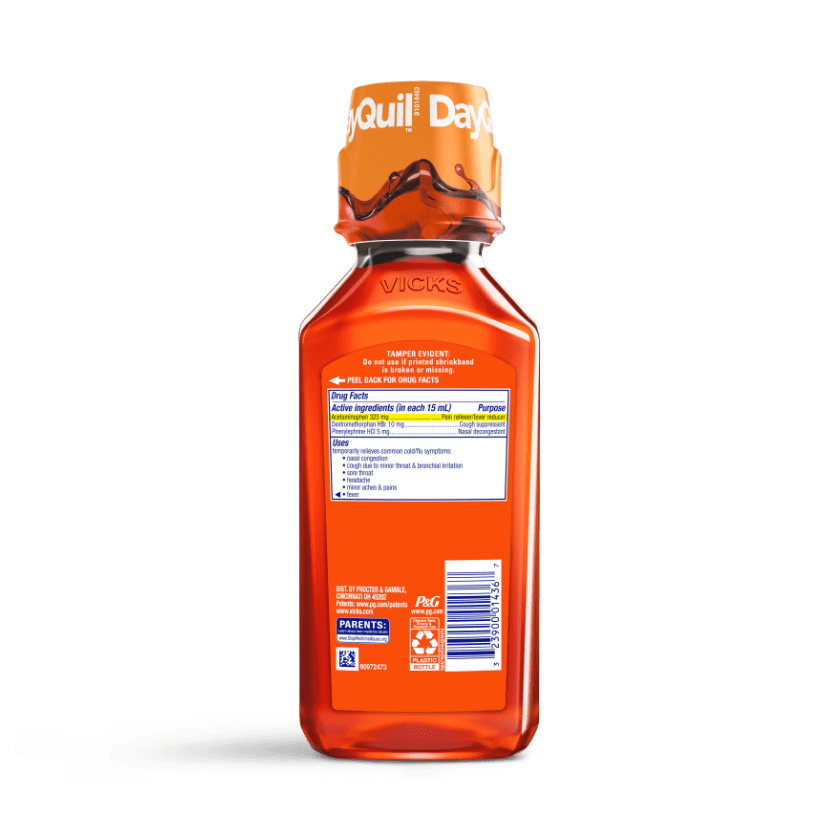 DayQuil Cough & Congestion Relief Liquid