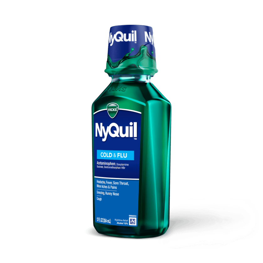 NyQuil Cold & Flu Nighttime Medicine
