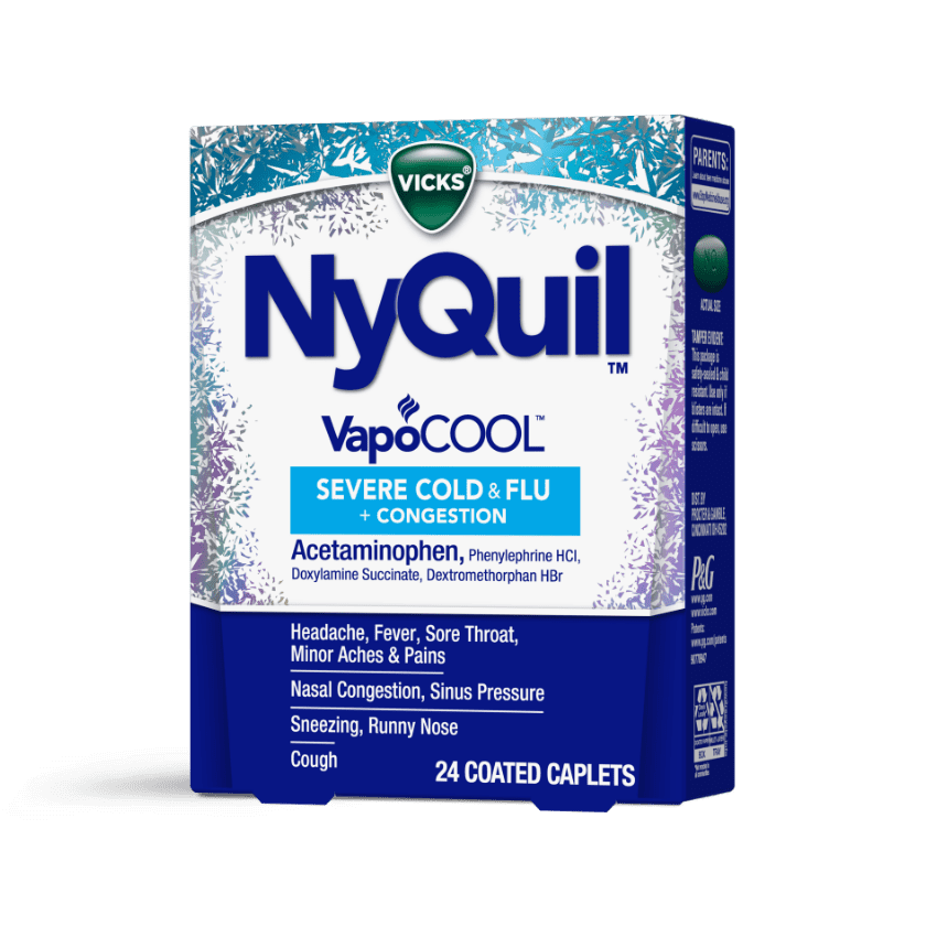 NyQuil Severe VapoCOOL Nighttime Relief