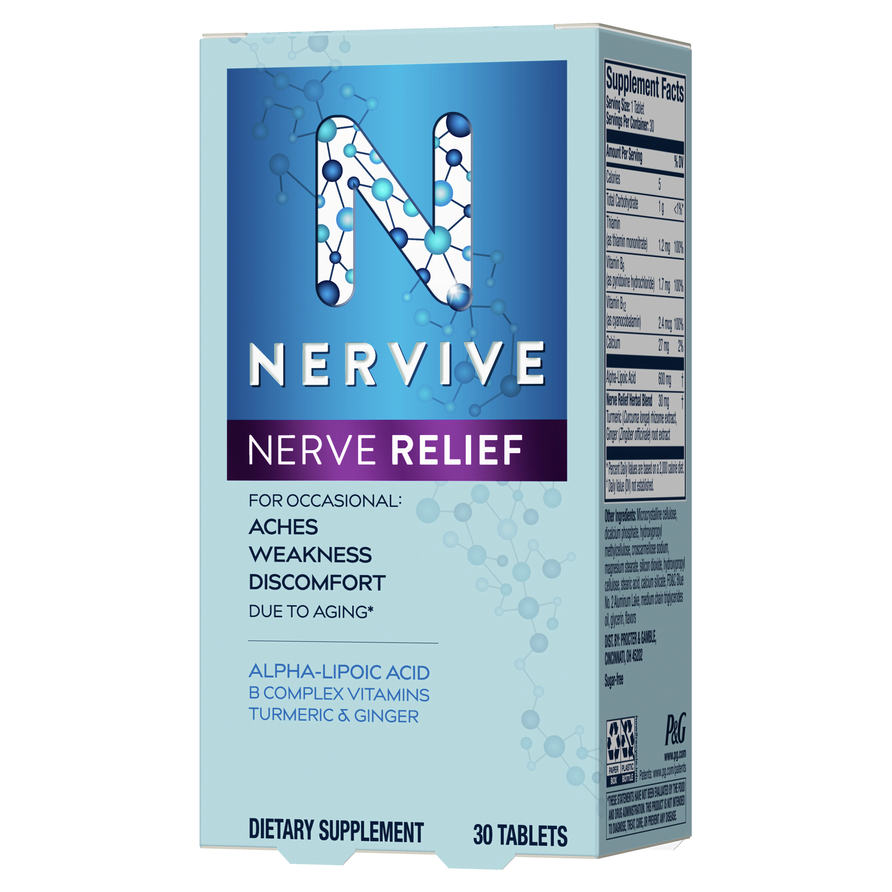 Nervive Nerve Relief Right View