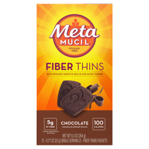 Metamucil Chocolate Fiber Thins
