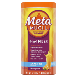 Metamucil Sugar-Free Orange Smooth Powder