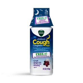 Vicks Children's Cough & Congestion Night Liquid