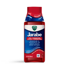 Vicks Jarabe Cough and Congestion Liquid
