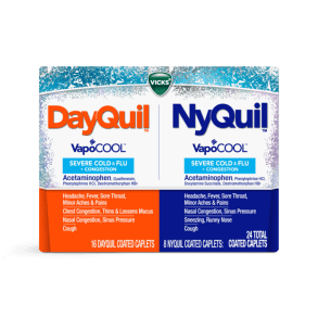 DayQuil / NyQuil Cold, Flu and Congestion Relief Caplets