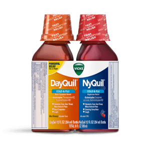 DayQuil and NyQuil Cold & Flu Relief Liquid