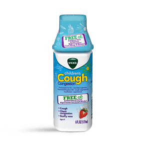 Vicks Children's Stuffy Nose and Chest Congestion Relief Medicine