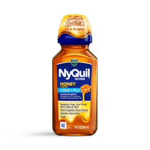 NyQuil Severe Honey Cold and Flu Relief Liquid