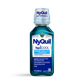 NyQuil Severe VapoCOOL Nighttime Cold & Flu Relief Liquid