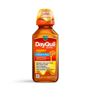 DayQuil Severe Honey Cold & Flu Relief Liquid