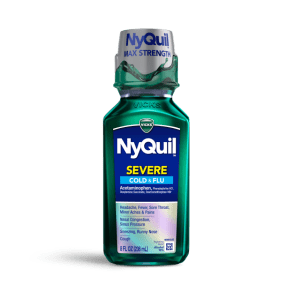NyQuil Severe Cold & Flu Relief Liquid