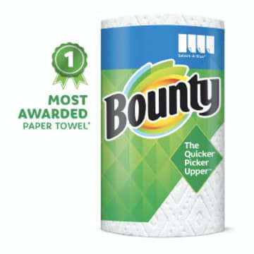 Bounty Select-A-Size Paper Towel Rolls