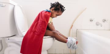When to start potty training a child
