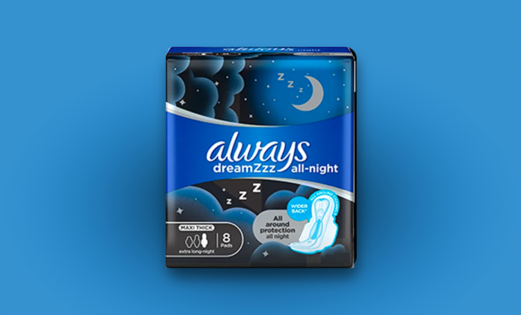 Try a Special Night Sanitary Pad