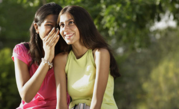 What are changes seen in girls at the time of puberty