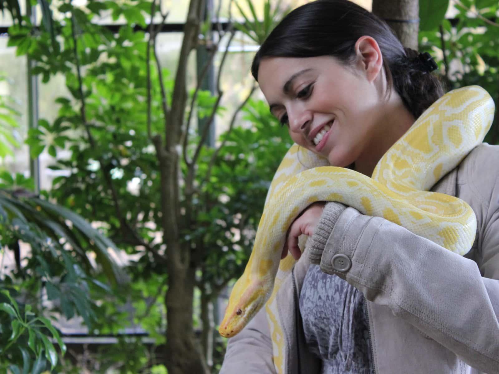 Puri and snake