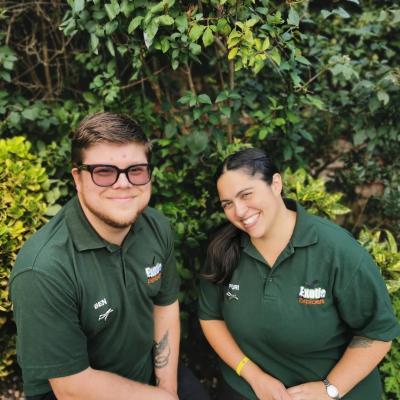 Exotic Explorers owners, Ben & Puri
