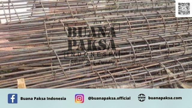 Jasa Pemasangan Besi Kolom Praktis Pabrikan Ukuran 80x80 Area Sawahlunto