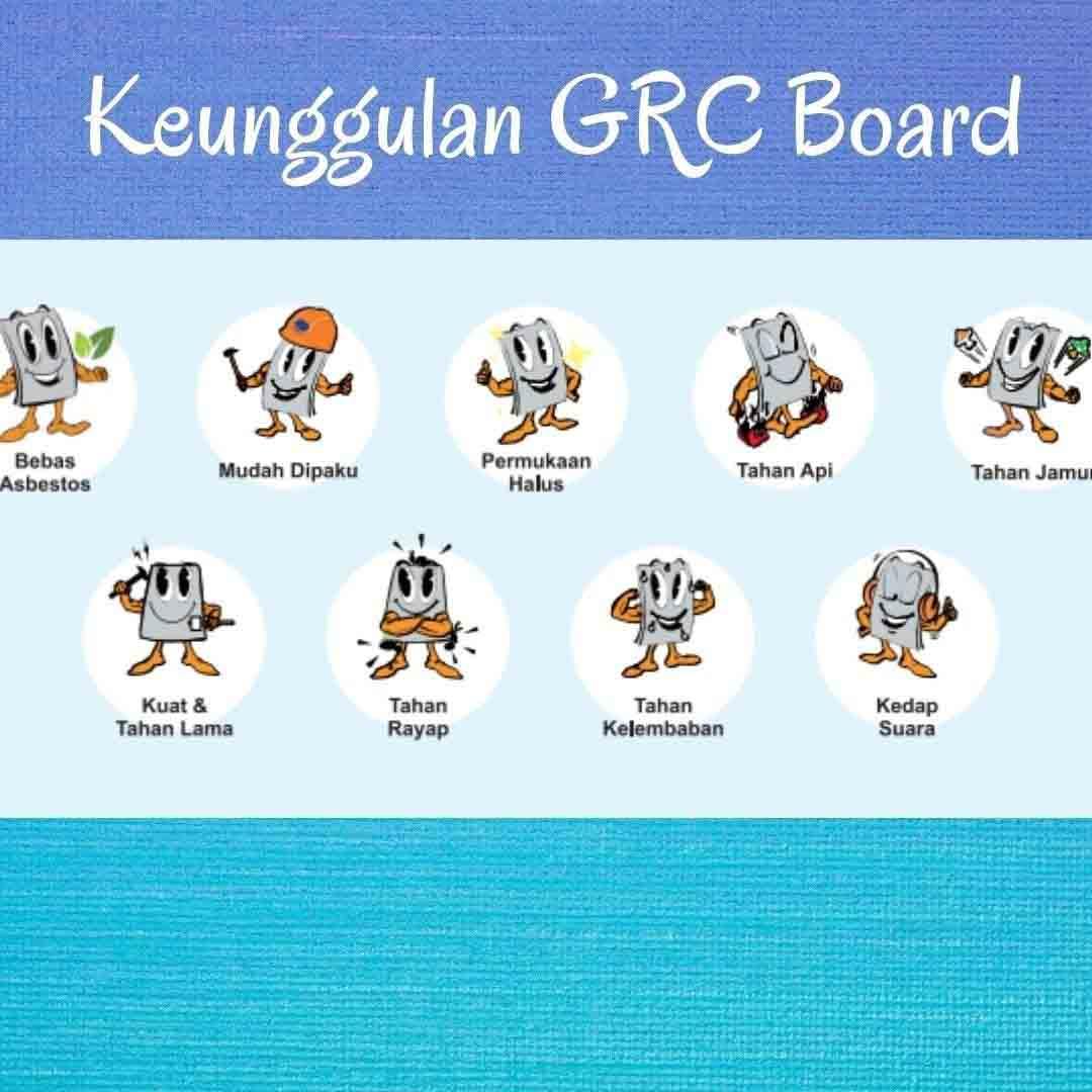 Info Papan Semen GRC Daerah Temanggung