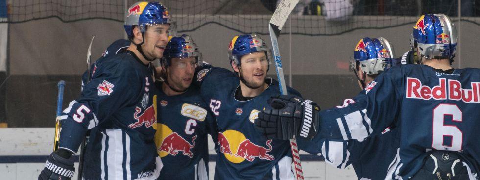 EHC Red Bull gegen Bremerhaven