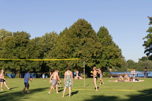 Volleyball am Fasaneriesee