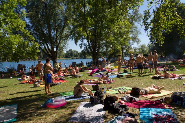 Badeseen München Feldmochinger See - Das offizielle