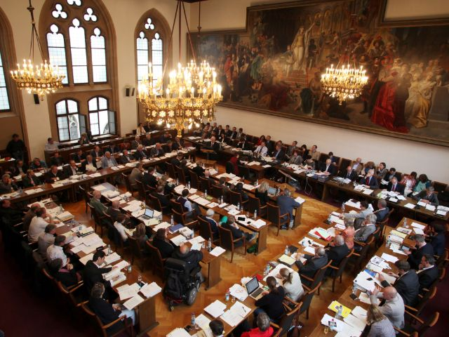Plenum des Münchner Stadtrates