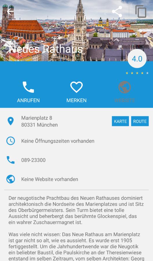 München App Android myMunich