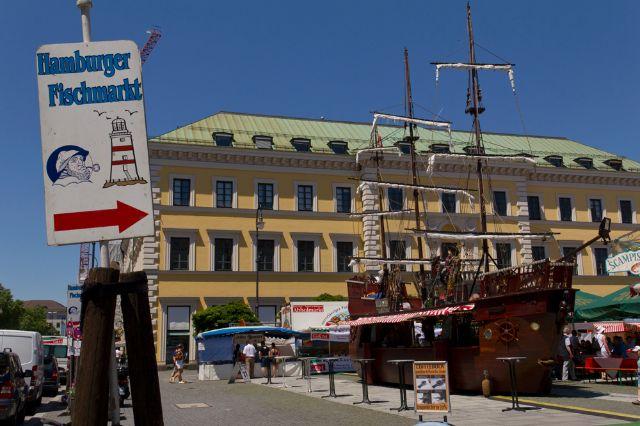 Hamburger Fischmarkt Wittelsbacherplatz