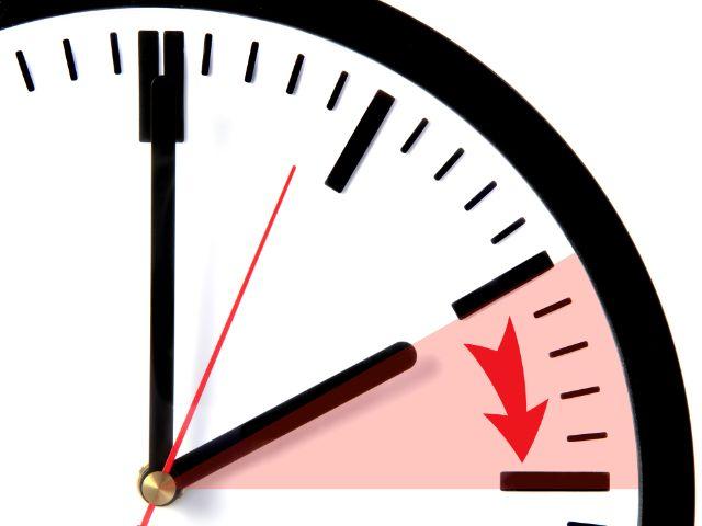 Zeitumstellung Uhr wird vorgestellt