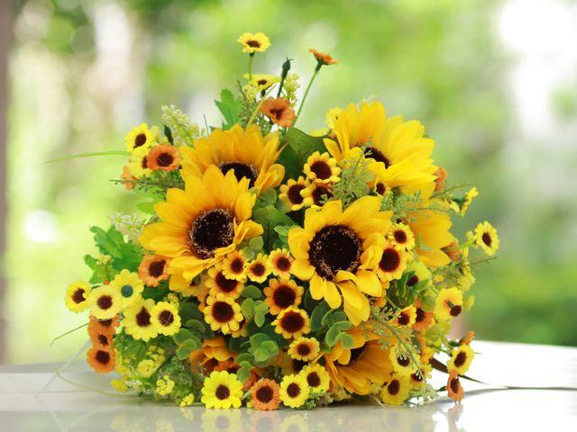 Blumenstrauß Sonnenblumen
