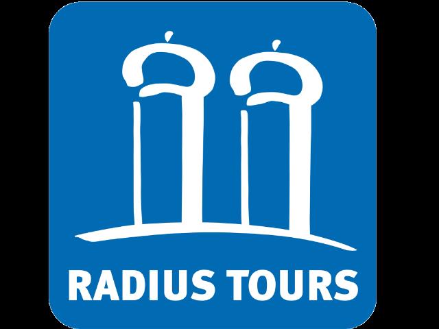 Radius Tours Logo