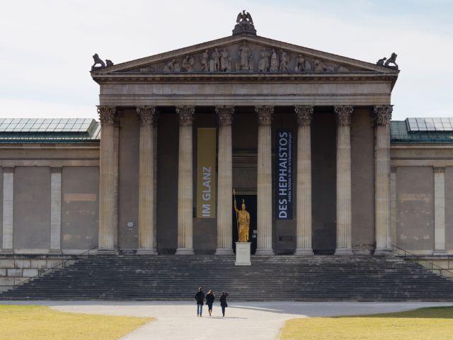 Die Staatlichen Antikensammlungen auf dem Königsplatz