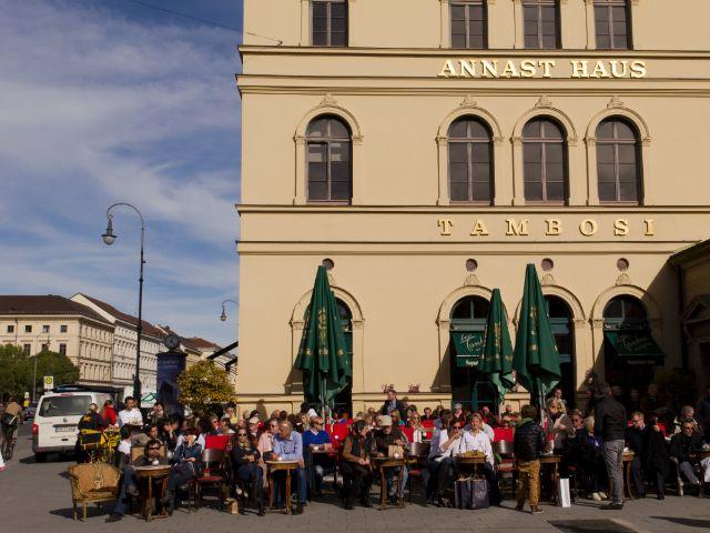 Impressionen vom Odeonsplatz und Hofgarten