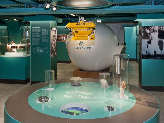 Ausstellung Meeresforschung im Deutschen Museum