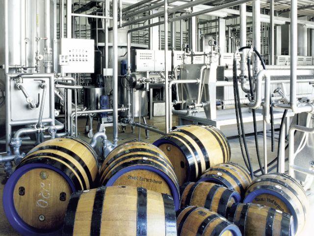 Hofbräu Brauerei Fässer